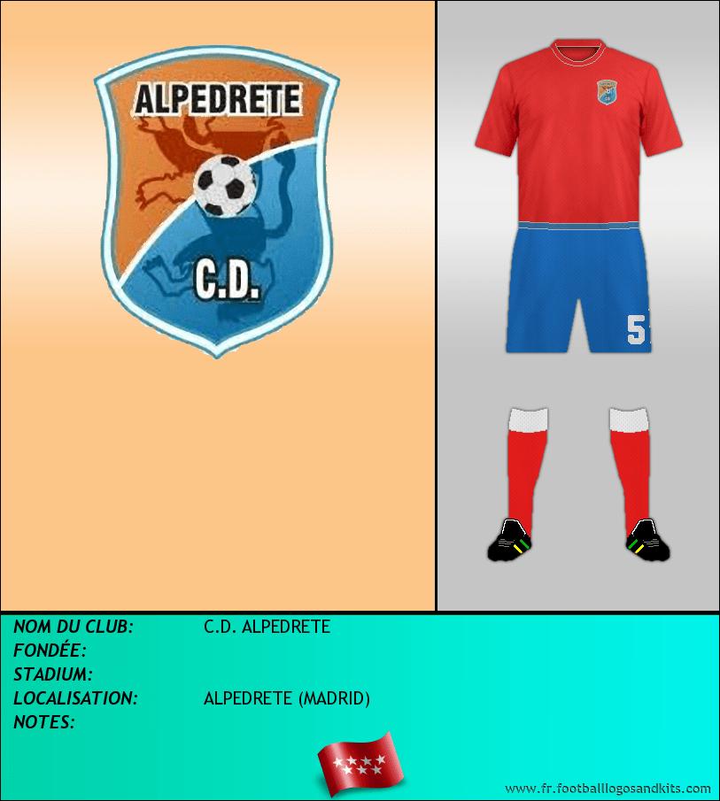 Logo de C.D. ALPEDRETE