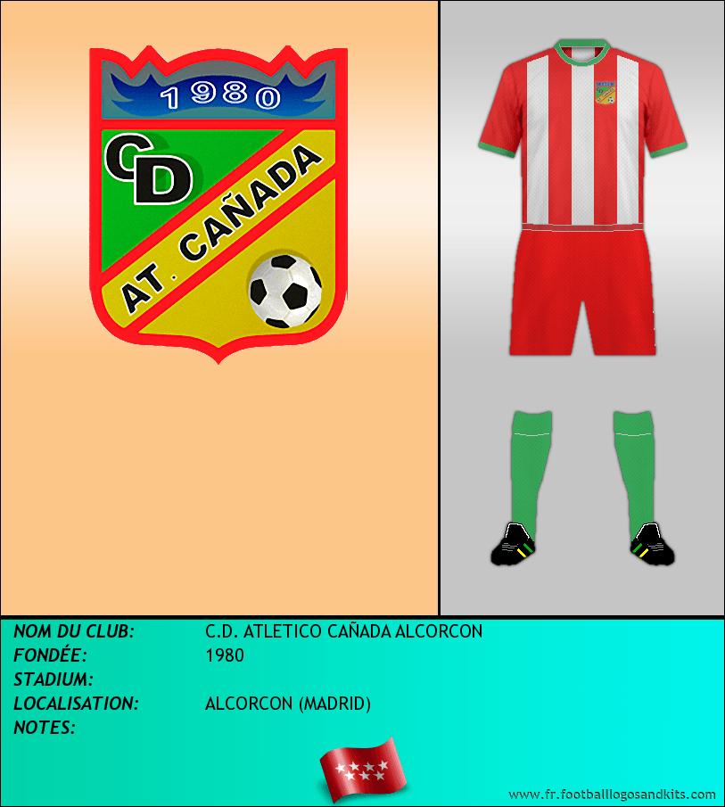 Logo de C.D. ATLETICO CAÑADA ALCORCON