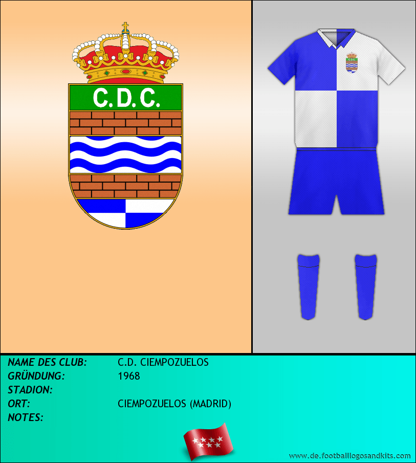 Logo C.D. CIEMPOZUELOS