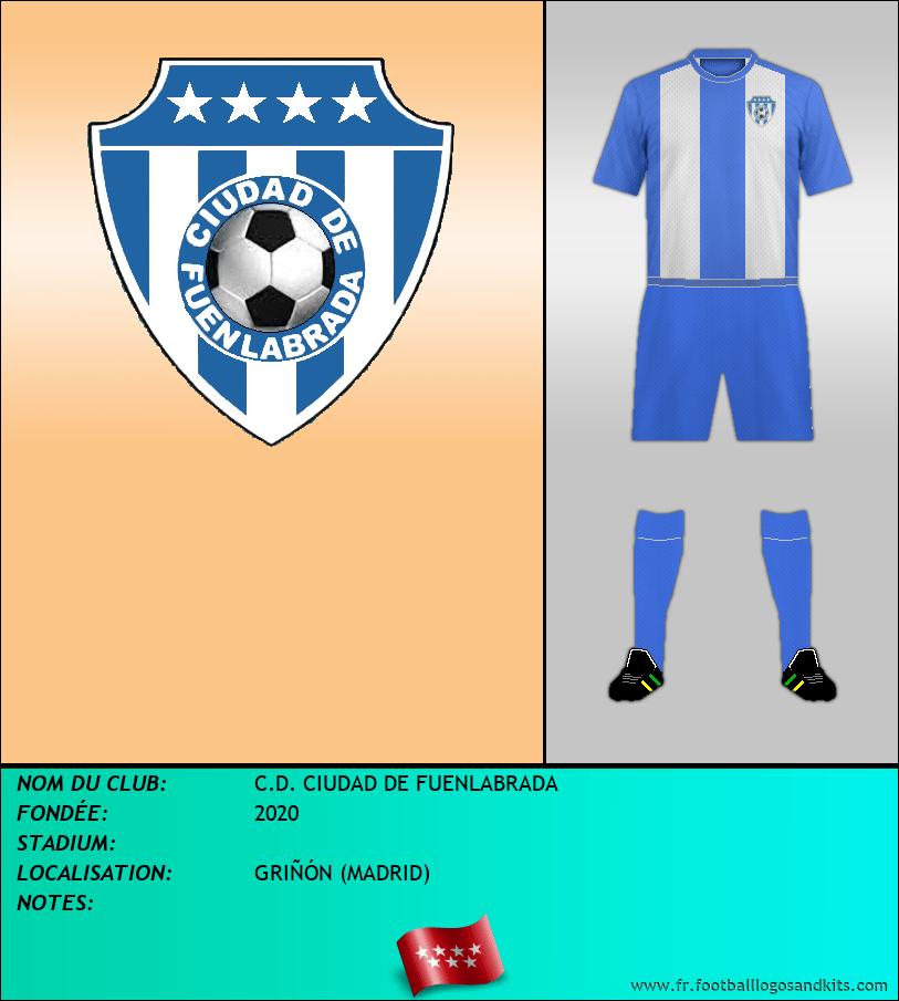 Logo de C.D. CIUDAD DE FUENLABRADA