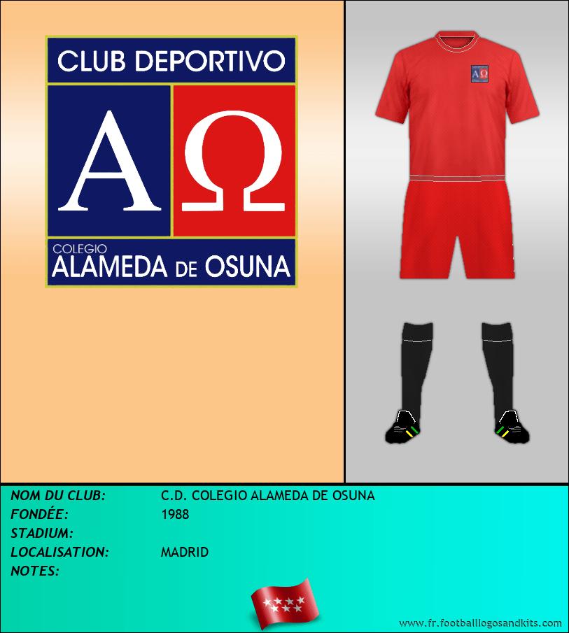 Logo de C.D. COLEGIO ALAMEDA DE OSUNA