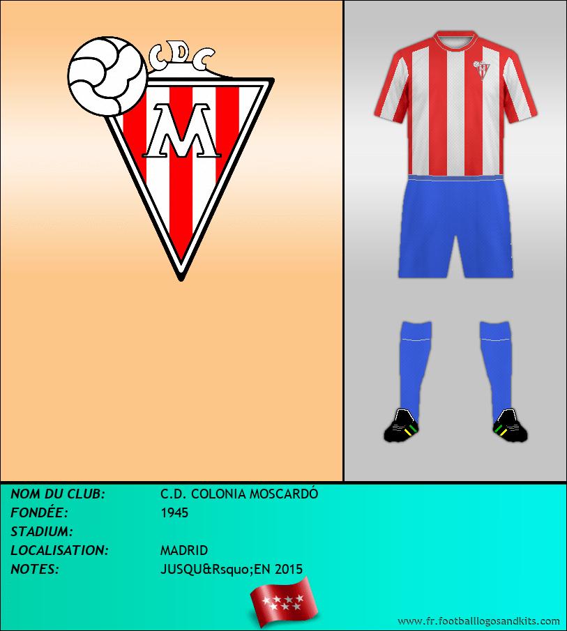 Logo de C.D. COLONIA MOSCARDÓ
