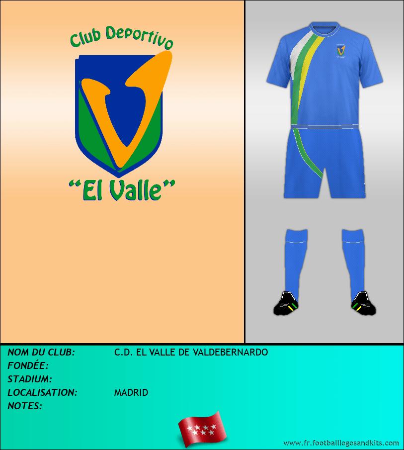 Logo de C.D. EL VALLE DE VALDEBERNARDO