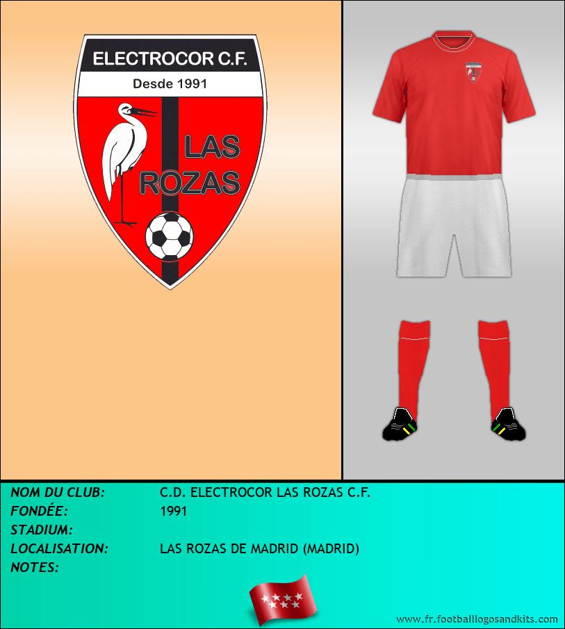 Logo de C.D. ELECTROCOR LAS ROZAS C.F.