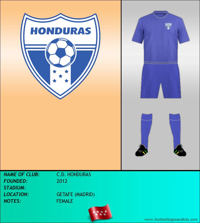 Logo of C.D. HONDURAS
