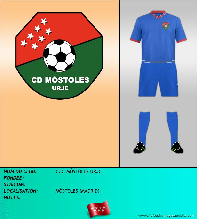 Logo de C.D. MÓSTOLES URJC