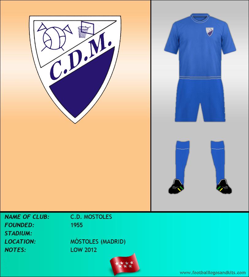 Logo of C.D. MOSTOLES