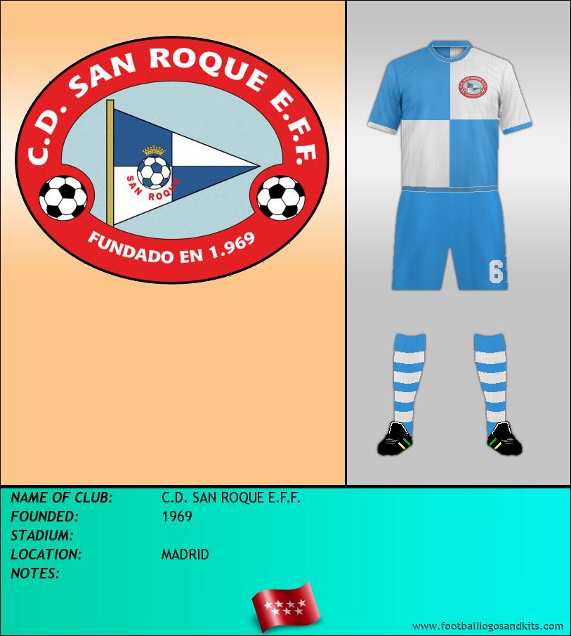 Logo of C.D. SAN ROQUE E.F.F.