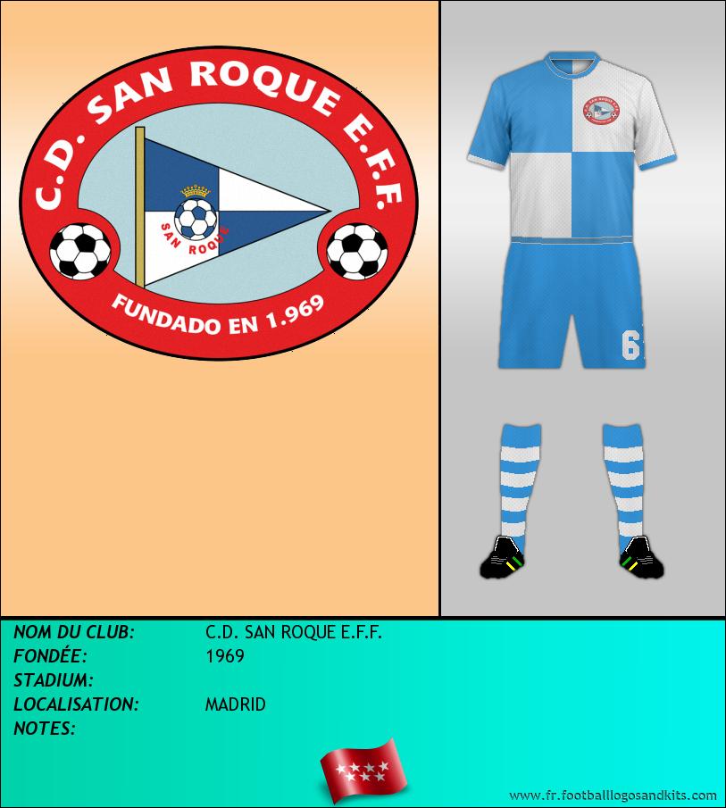 Logo de C.D. SAN ROQUE E.F.F.