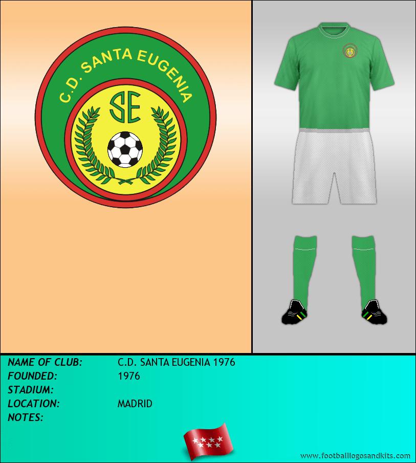 Logo of C.D. SANTA EUGENIA 1976