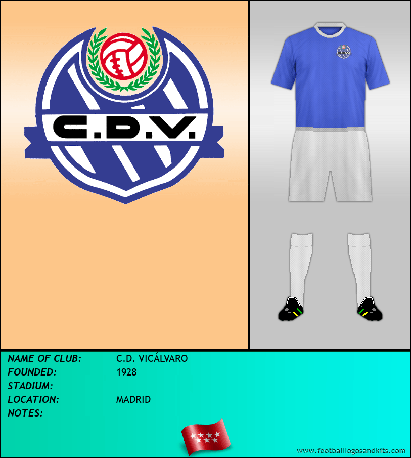 Logo of C.D. VICÁLVARO