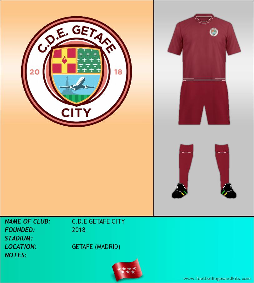 Logo of C.D.E GETAFE CITY