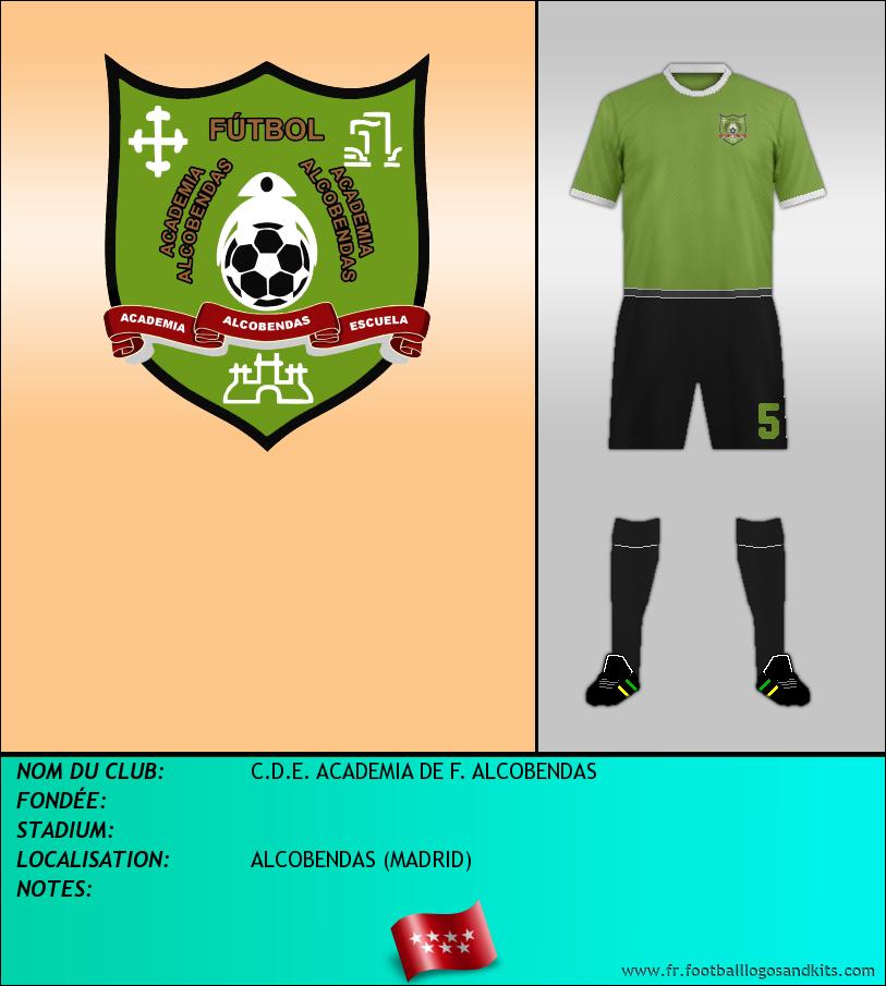 Logo de C.D.E. ACADEMIA DE F. ALCOBENDAS