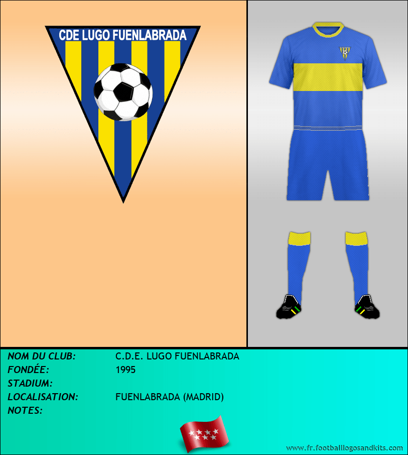 Logo de C.D.E. LUGO FUENLABRADA