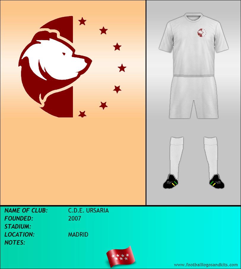 Logo of C.D.E. URSARIA