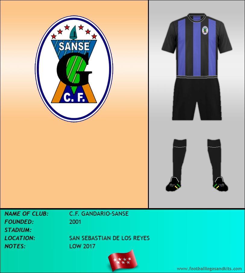 Logo of C.F. GANDARIO-SANSE