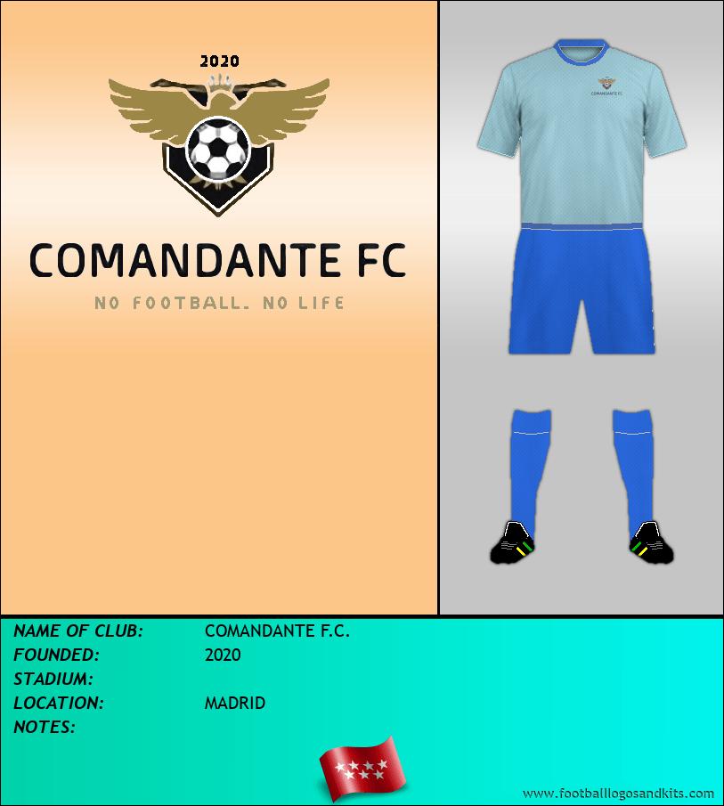 Logo of COMANDANTE F.C.