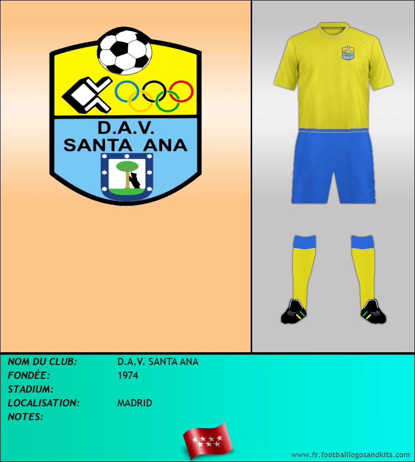 Logo de D.A.V. SANTA ANA