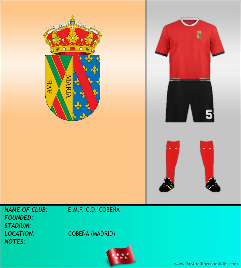 Logo of E.M.F. C.D. COBEÑA