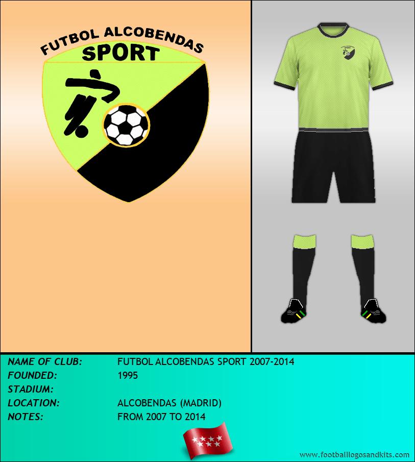 Logo of FUTBOL ALCOBENDAS SPORT 2007-2014