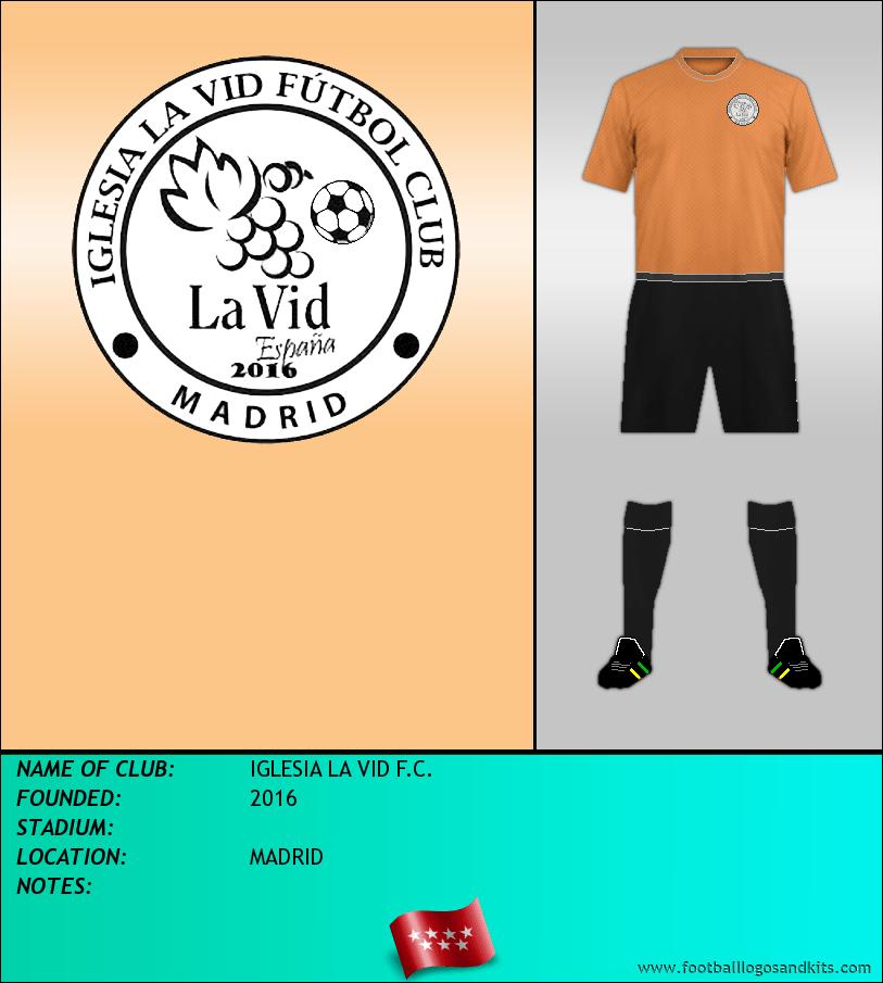Logo of IGLESIA LA VID F.C.