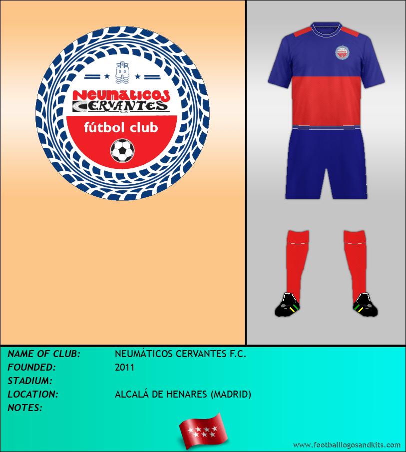 Logo of NEUMÁTICOS CERVANTES F.C.