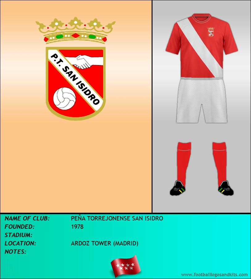 Logo of PEÑA TORREJONENSE SAN ISIDRO