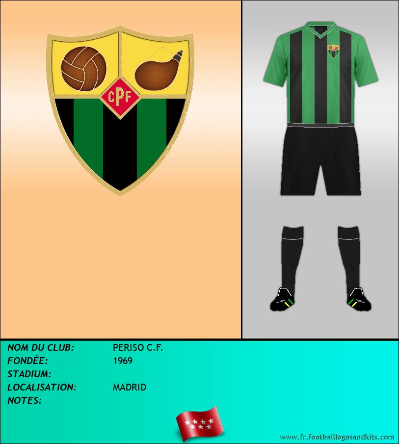 Logo de PERISO C.F.