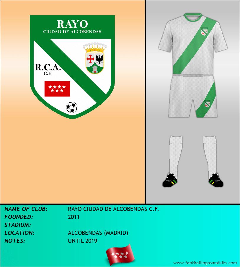 Logo of RAYO CIUDAD DE ALCOBENDAS C.F.