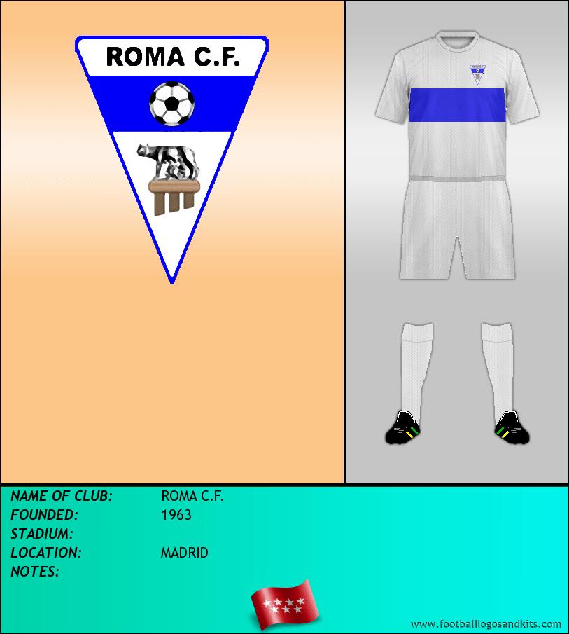 Logo of ROMA C.F.