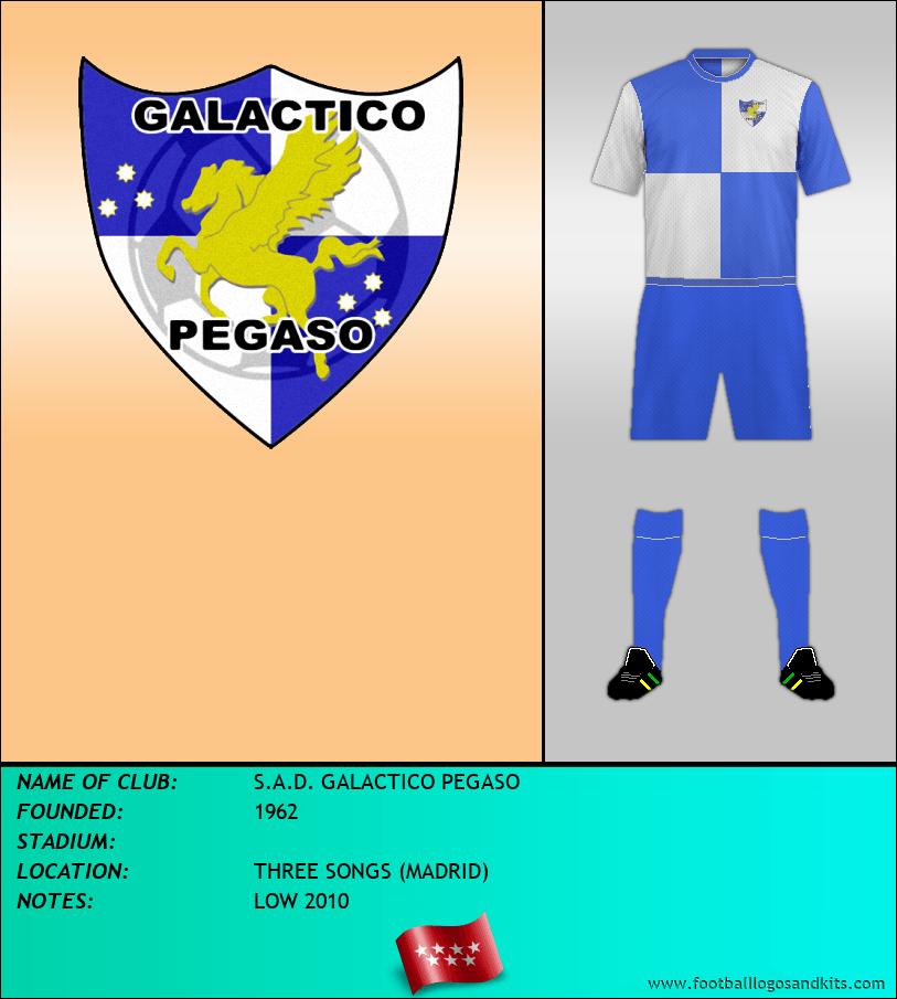 Logo of S.A.D. GALACTICO PEGASO