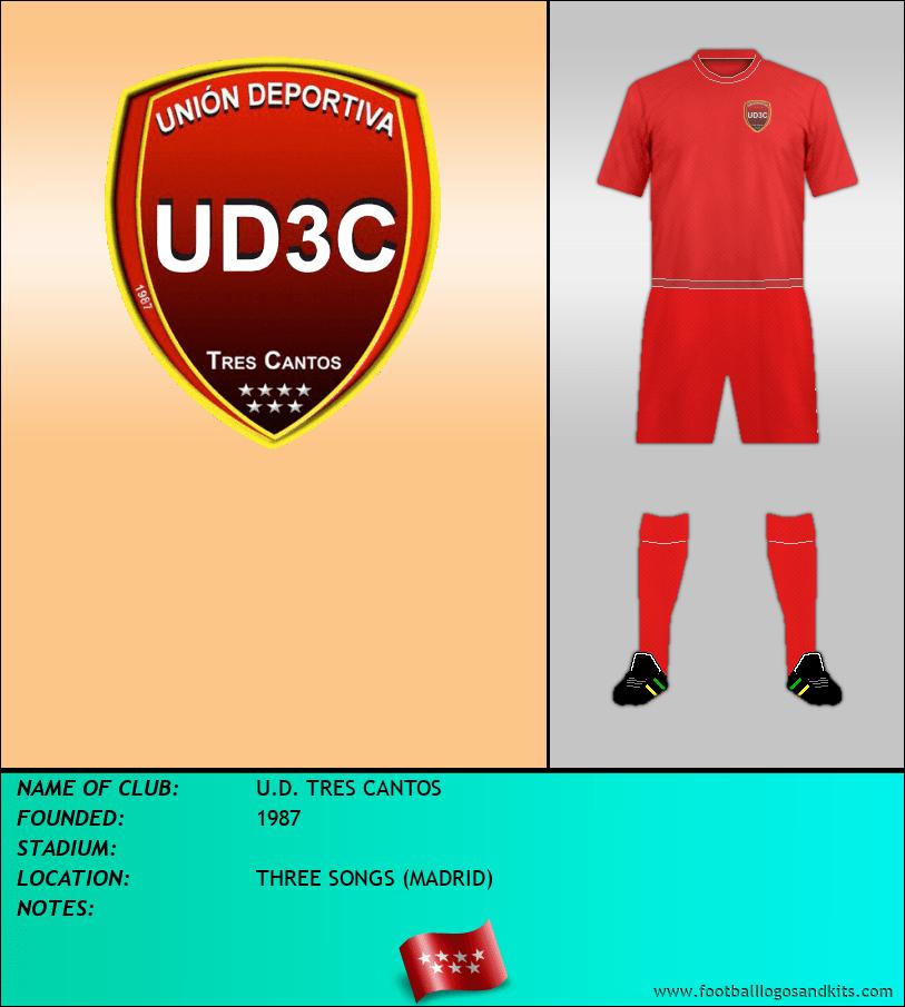 Logo of U.D. TRES CANTOS