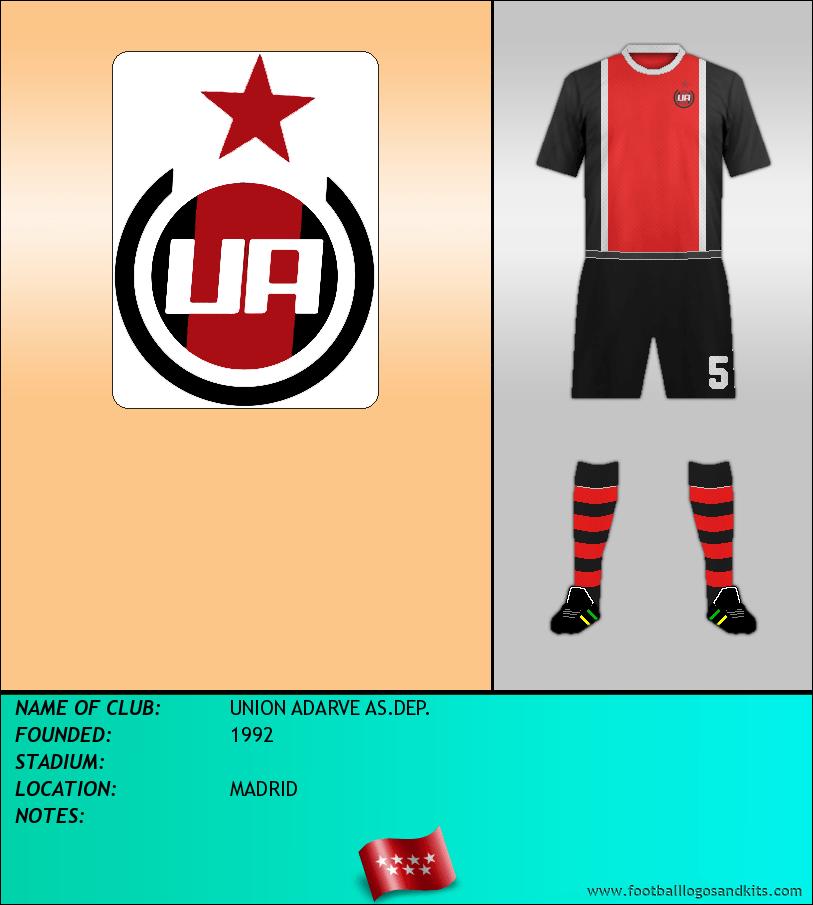 Logo of UNION ADARVE AS.DEP.
