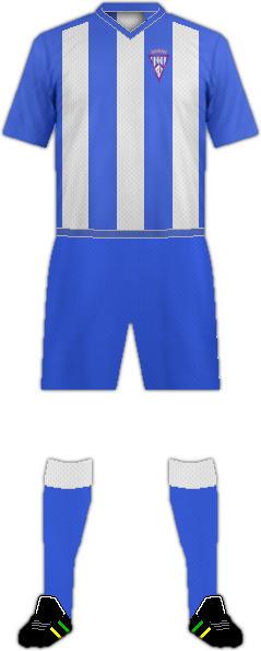 Kit F.C. JUMILLA 2011-2015.