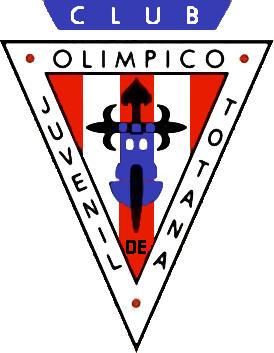 标志奥林匹克俱乐部的totana (穆尔西亚)