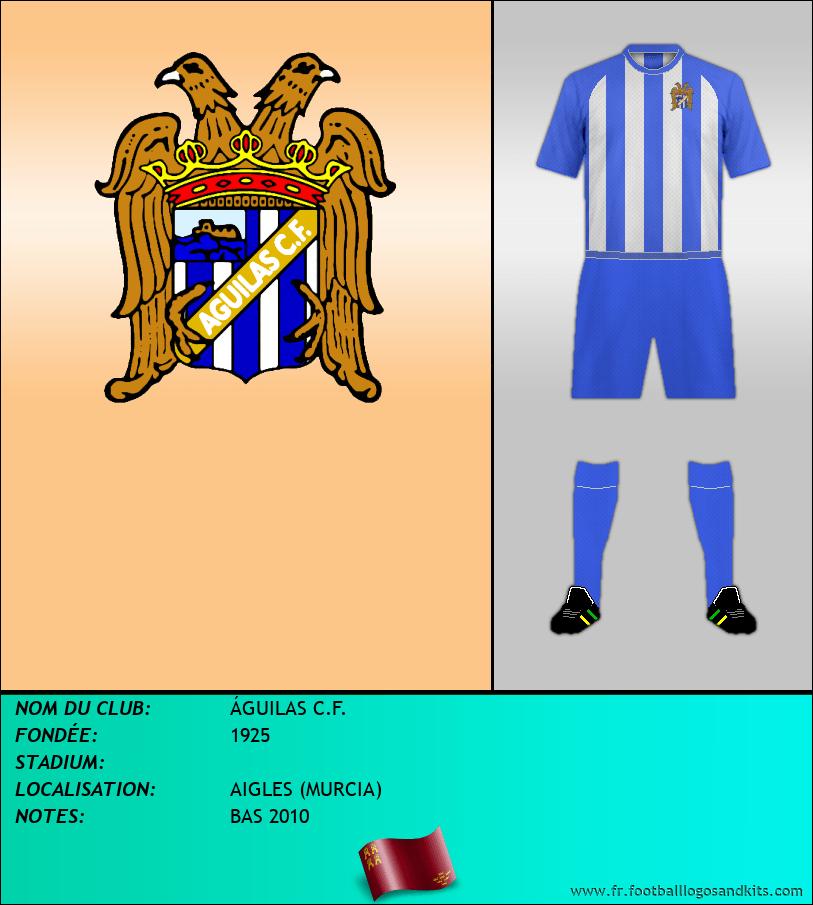 Logo de ÁGUILAS C.F.
