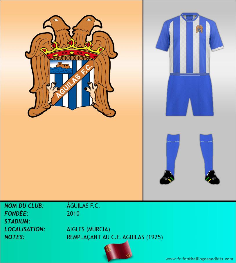Logo de ÁGUILAS F.C.