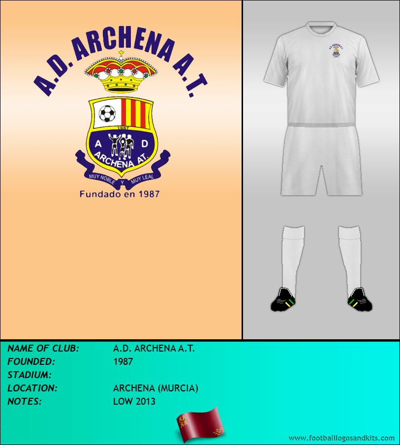 Logo of A.D. ARCHENA A.T.
