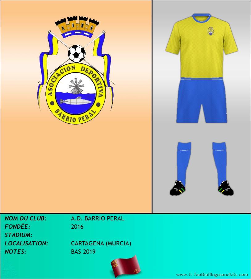 Logo de A.D. BARRIO PERAL