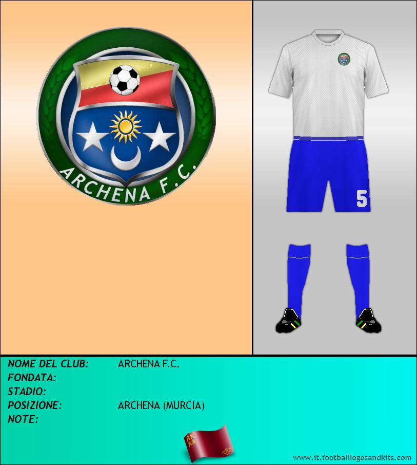 Logo di ARCHENA F.C.