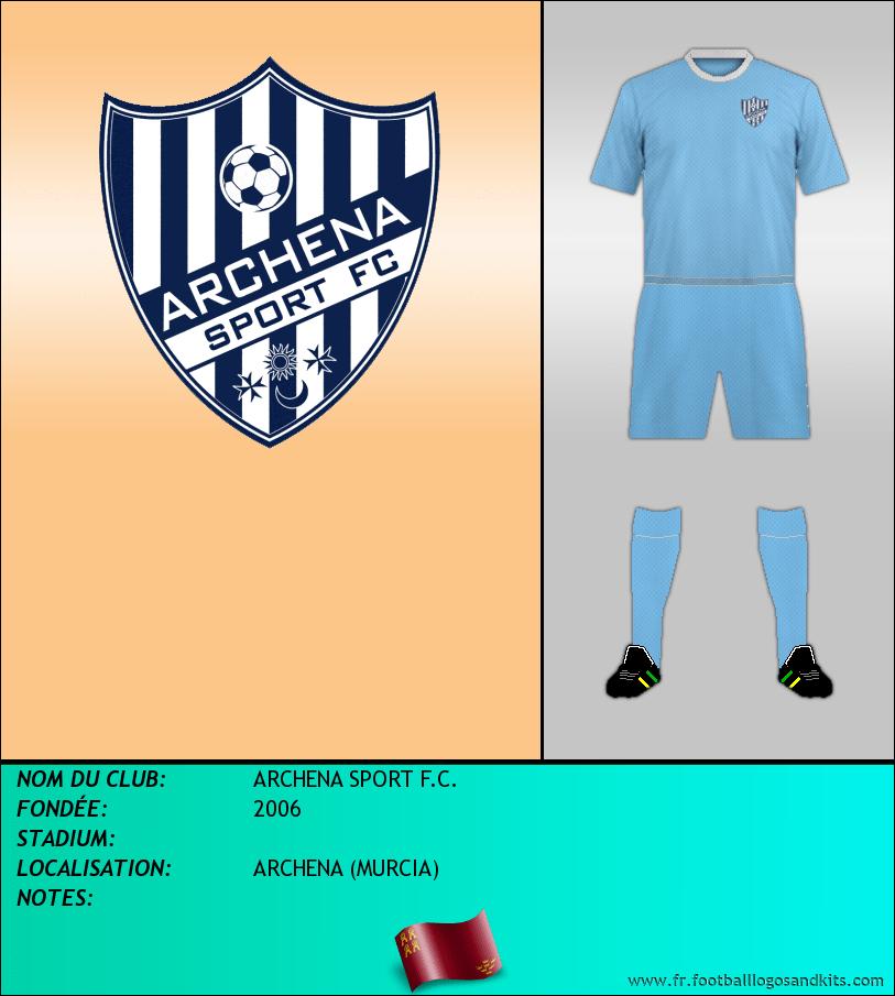 Logo de ARCHENA SPORT F.C.