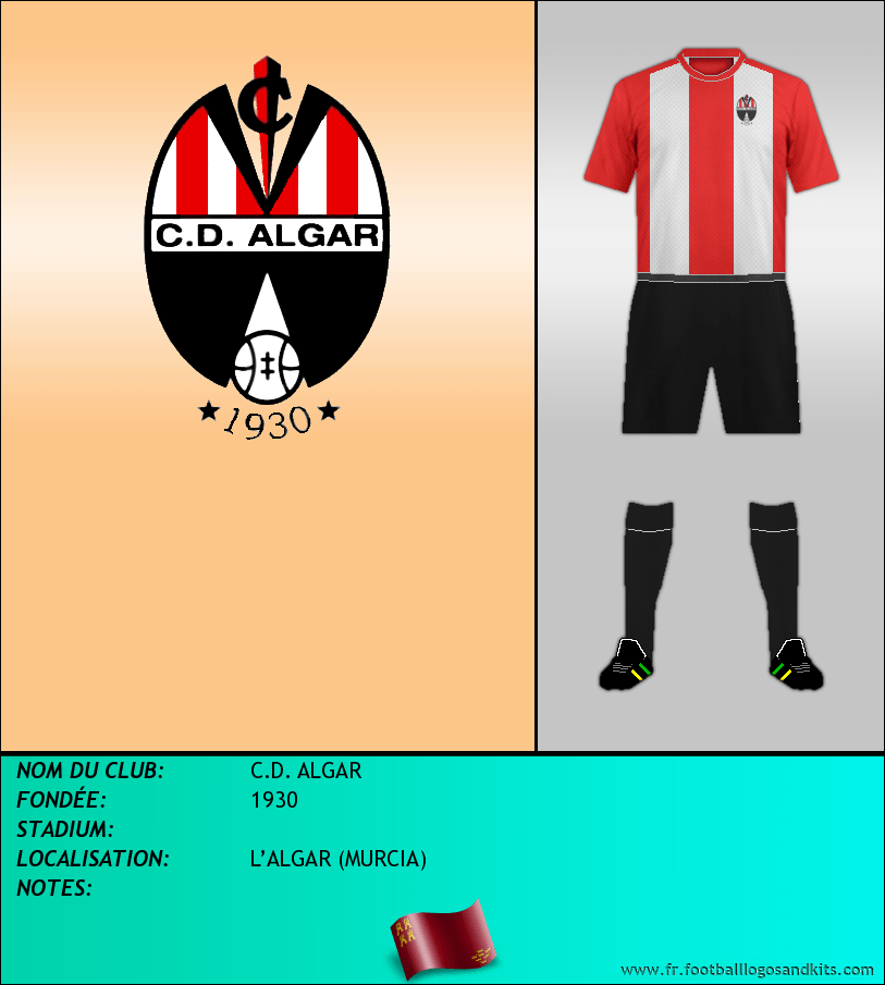 Logo de C.D. ALGAR