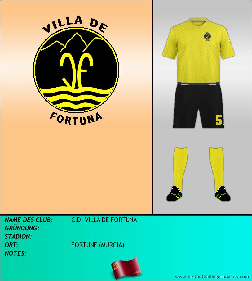 Logo C.D. VILLA DE FORTUNA