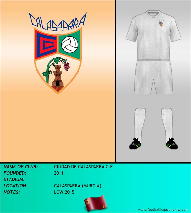 Logo of CIUDAD DE CALASPARRA C.F.