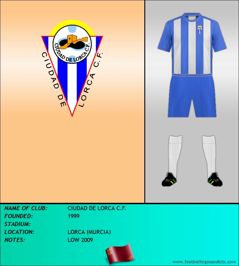 Logo of CIUDAD DE LORCA C.F.