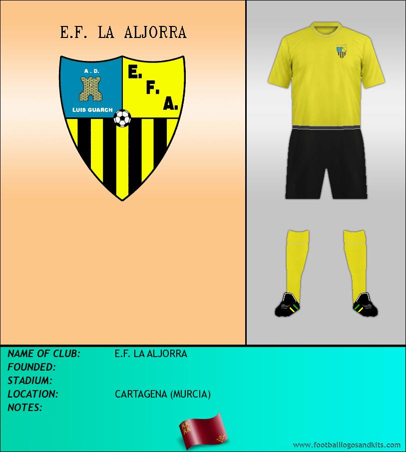 Logo of E.F. LA ALJORRA