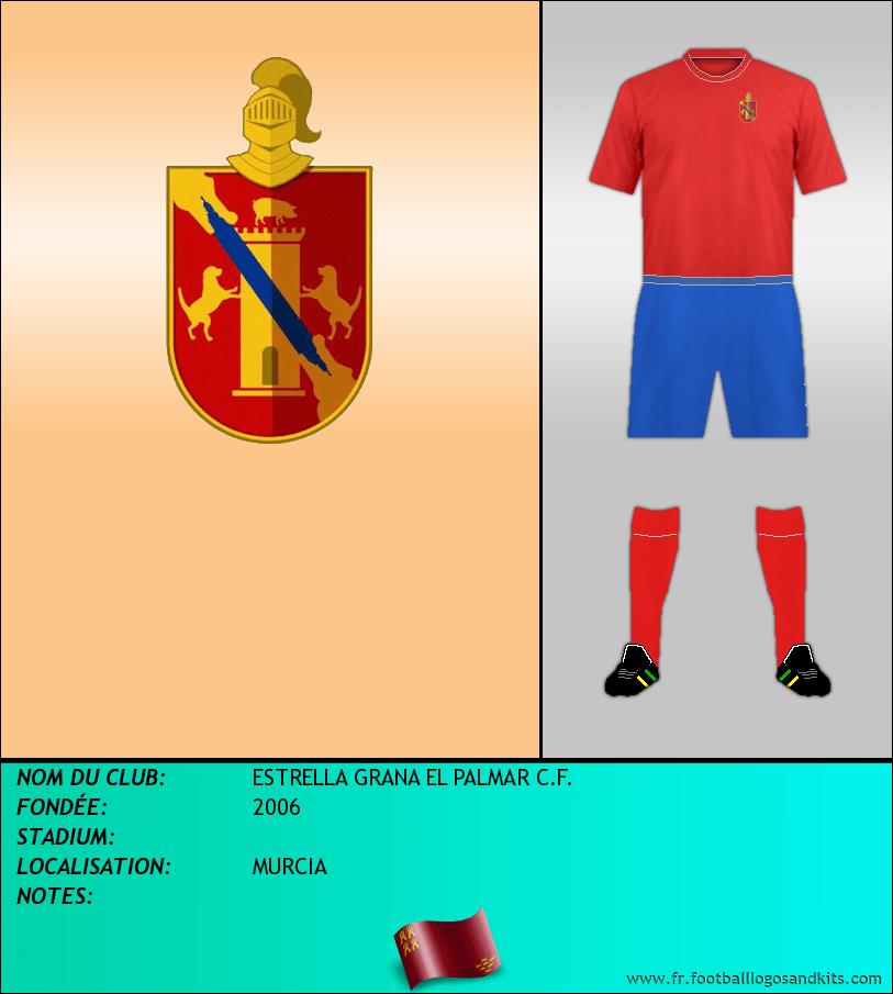 Logo de ESTRELLA GRANA EL PALMAR C.F.