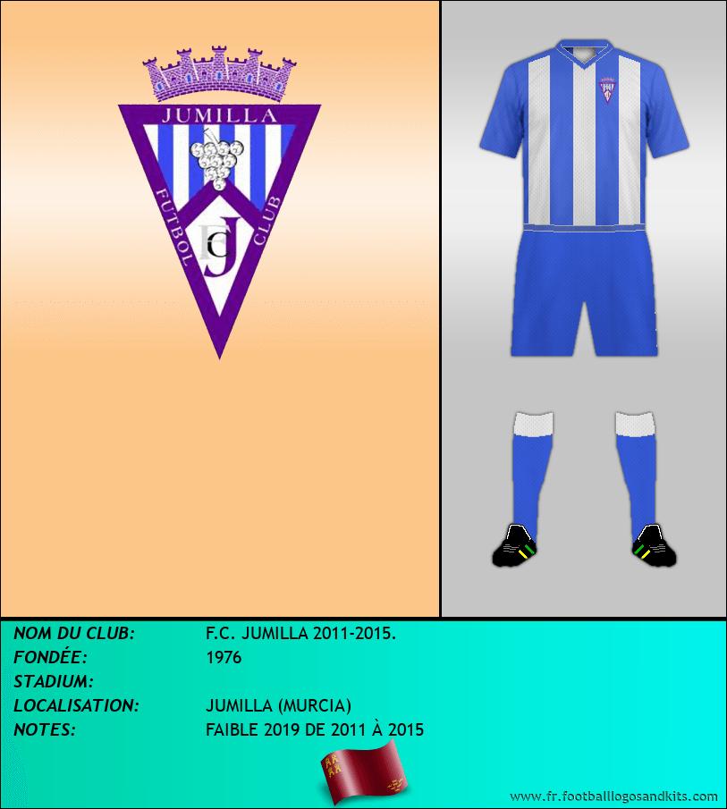 Logo de F.C. JUMILLA 2011-2015.