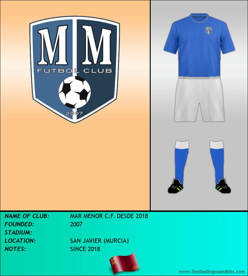 Logo of MAR MENOR C.F. DESDE 2018
