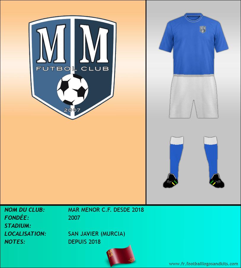 Logo de MAR MENOR C.F. DESDE 2018